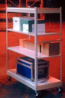 Inventory Cart offers max load capacity of 1,200 lb.
