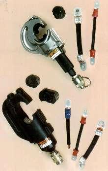 Hydraulic Crimping Tools handle heavy-gauge connectors.