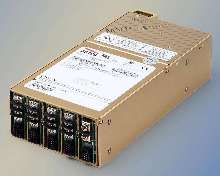 Modular Power Supplies offer 600 to 1,200 W line ratings.