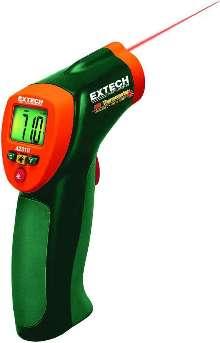 Mini Infrared Thermometer offers wide temperature range.