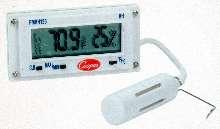Digital Panel Meter monitors temperature and humidity.