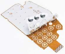Dome Switches provide up to 2.5 million operations.
