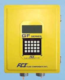 Flowmeter has flow range of 0.75-600 sfps.