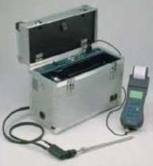Portable Gas Analyzer suits domestic/industrial applications.