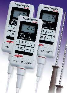 Digital Thermometers are accurate to within ±0.5 °F.