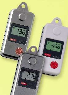 Temperature/Humidity Logger includes WINLOG 2000 software.