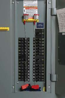 Circuit Breaker Lockout System prevents unauthorized use.