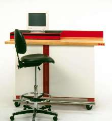 Workstation handles needs of busy technicians.