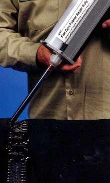 Urethane Compound repairs conveyor belts.