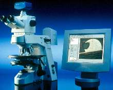Upright Microscope meets demands of materials research.
