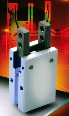 Pneumatic Grippers provide fast, accurate handling.