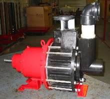 Self-Priming Thermoplastic Pumps are magnetically driven.