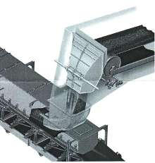 Flow Chutes offer belt-to-belt transfer of material.