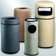 Receptacles provide aesthetics and durability.