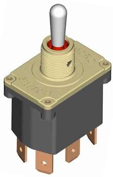 Toggle Switch handles extreme environments.