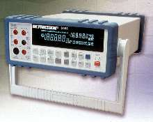 Multimeter features dual display with 50,000 count accuracy.