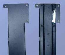Slide Rails can be bracket-mounted on horizontal members.