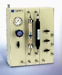 Modular Gas Panel controls specialty gases at point-of-use.