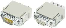 Adapter Module works with 9- and 15-way D-Sub products.