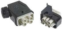 Power Connector provides finger-safe operation.