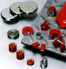 Magnets suit heavy-duty manufacturing applications.