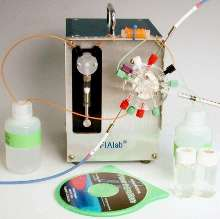 Sequential Injection Analyzer automates lab procedures.