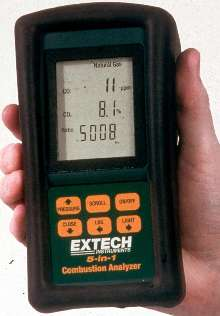 Portable Combustion Analyzer offers 5-in-1 functionality.
