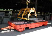 Trailer offers 60,000 lb capacity.