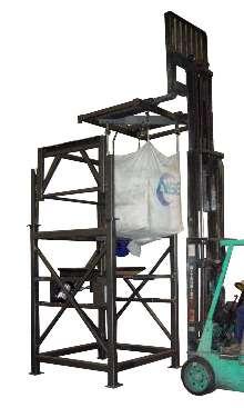 Bulk Bag Discharger handles bags up to 4,000 lb.