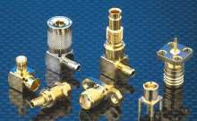 RF Connectors suit high frequency/low impedance applications.