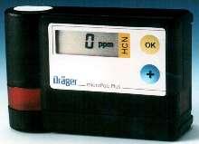 Hydrogen Cyanide Monitor has 0-50.0 ppm range.