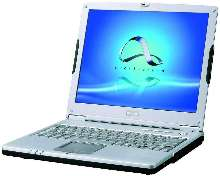 Notebook Computer offers wireless productivity.