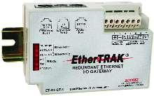 I/O Gateway provides redundant Ethernet interface.