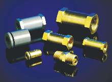 Check Valves operate from 0-10,000 psig with zero leakage.