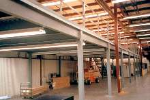 Mezzanines are designed for ease of installation.