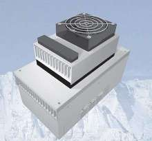 Air Conditioner features built-in preset thermostat.