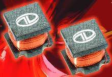 Surface Mount Inductor Series has open-frame design.