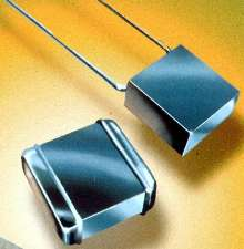 Encapsulated Film Capacitor has capacitance up to 1.0 µF.