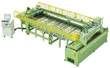 Automated Cross Cut Saw works with computerized panel saws.