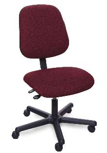 Ergonomic Chairs provide back support.