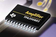 Audio Power Amplifier features DC volume control.