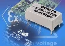Optocoupler offers input-to-output distance of >3 mm.