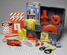 Lockout Kit ensures compliance with OSHA 1910.147.