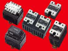 Solid State Relays offer various ratings and control modes.