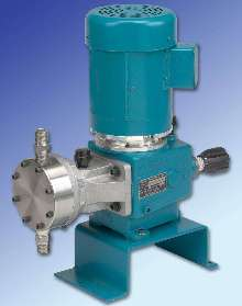 Diaphragm Metering Pumps handle viscosities over 5,000 cps.