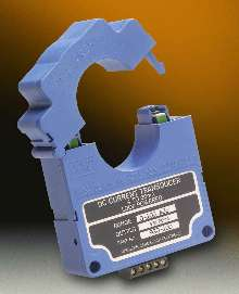 DC Current Transducers provide accuracy to 1.0% FS.