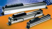 Rodless Cylinders save pneumatic installation space.
