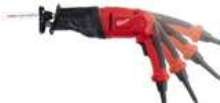 Reciprocating Saw features 6-position pivoting handle.