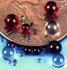 Optical Balls are offered in choice of materials.