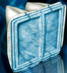 Self-Supporting Pocket Filters use polyester media.